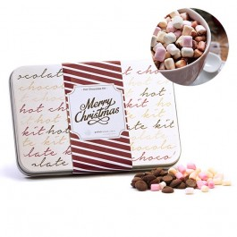 Kit de Chocolate caliente en latita personalizada