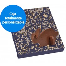 conejo de chocolate 3D