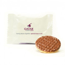 Galletas digestive con chocolate